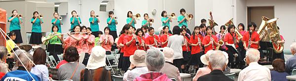白石中学校吹奏楽部